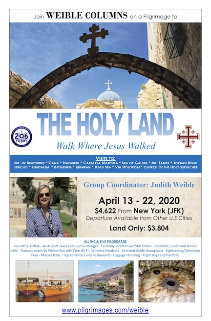 Holy Land flyer 2020