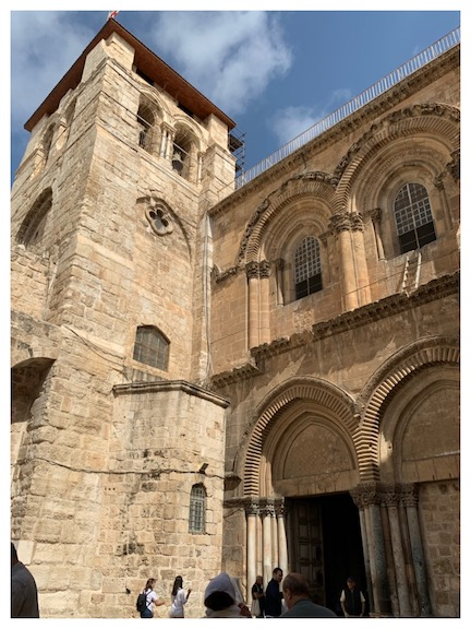 WCNLJUN19 HOLY LAND PIC 14 DAY FIVE CHURCH OF THE HOLY SEPULCHRE