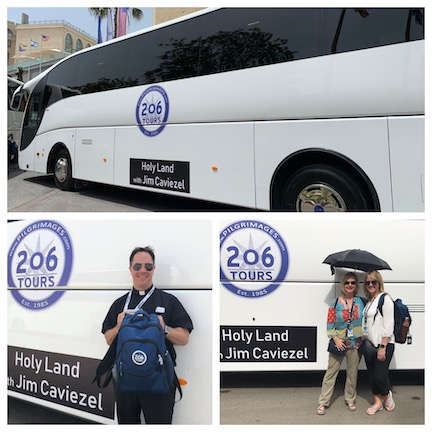 WCNLJUN19 HOLY LAND PIC 1 DAY ONE OUR BUS