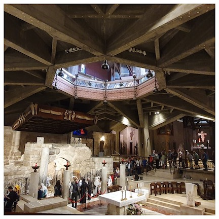 WCNLJUN19 HOLY LAND PIC 7 DAY TWO BASILICA OF THE ANNUNCIATION